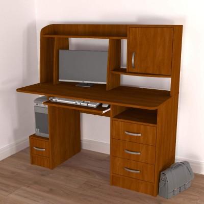 Комп'ютерний стіл «Елара» Колір «Яблуня Локарно, темна»